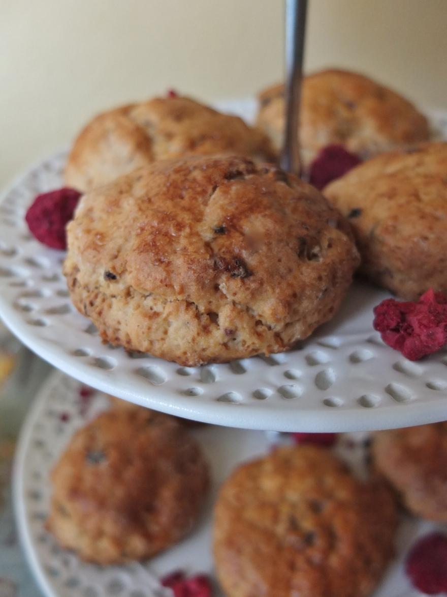 Ispahan scones
