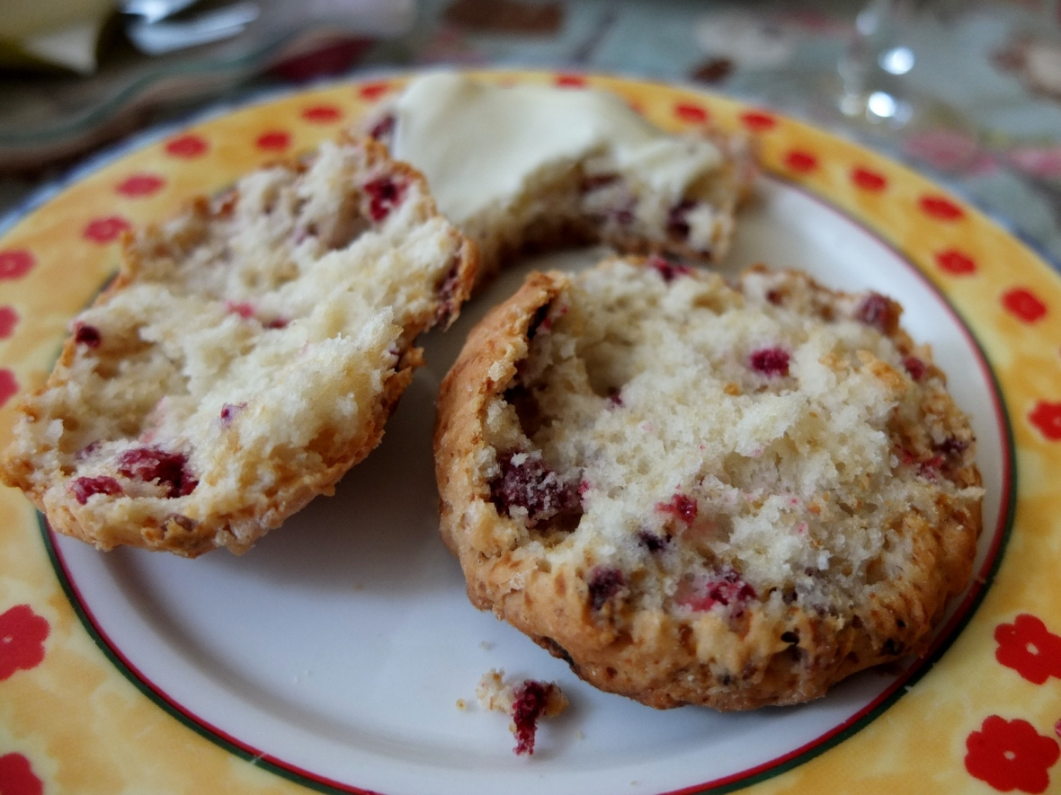 Have an Ispahan scone