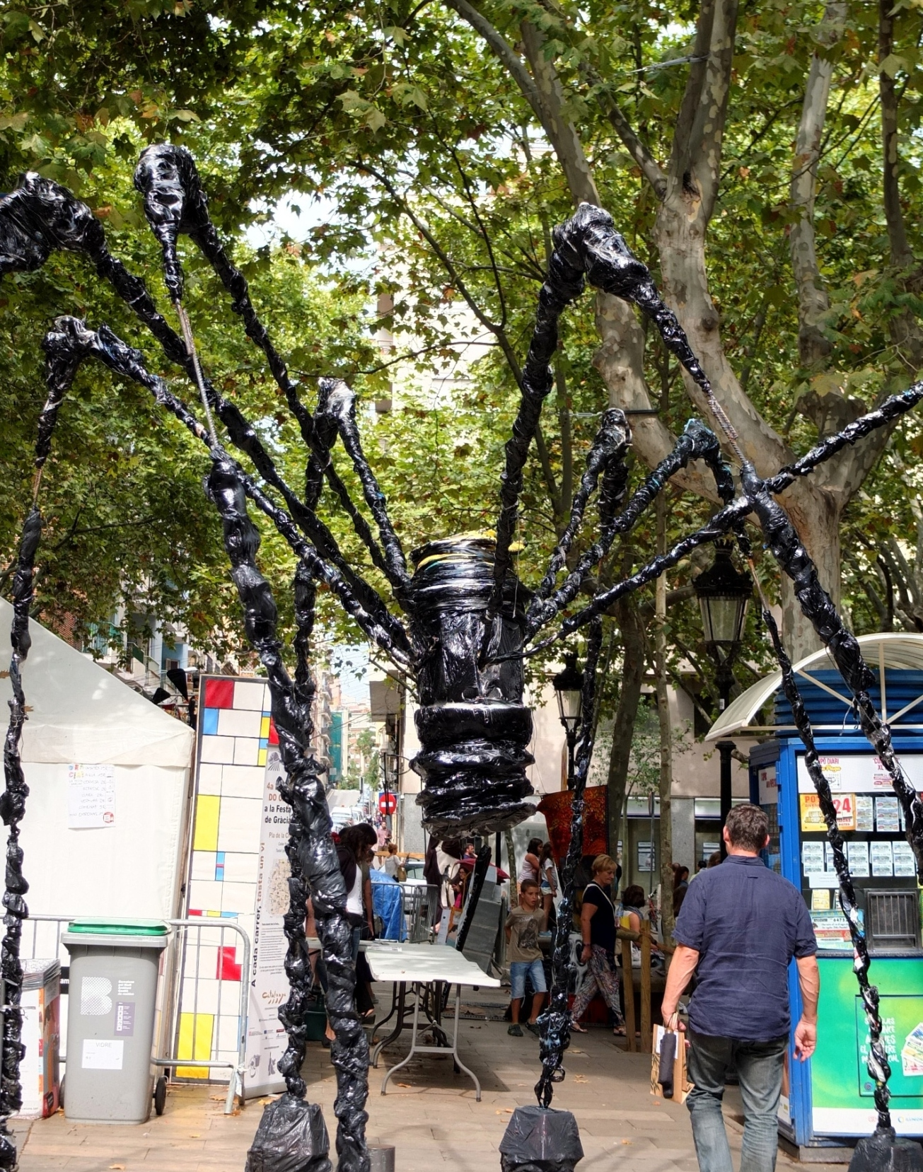 Louise Bourgeois' spider Maman