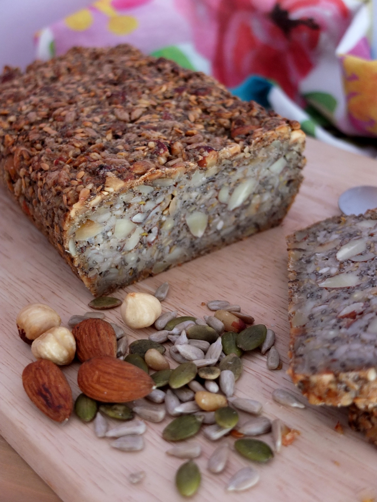 Gluten-free superfood seed and nut bread