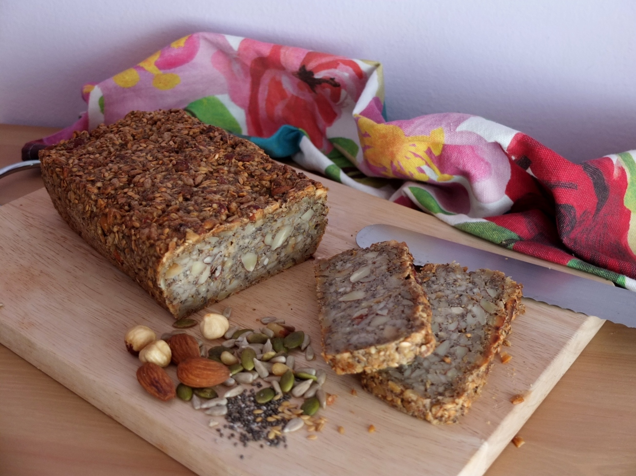 Superfood seed and nut bread recipe