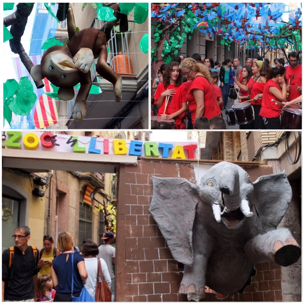 Escaping from the zoo at carrer llibertad