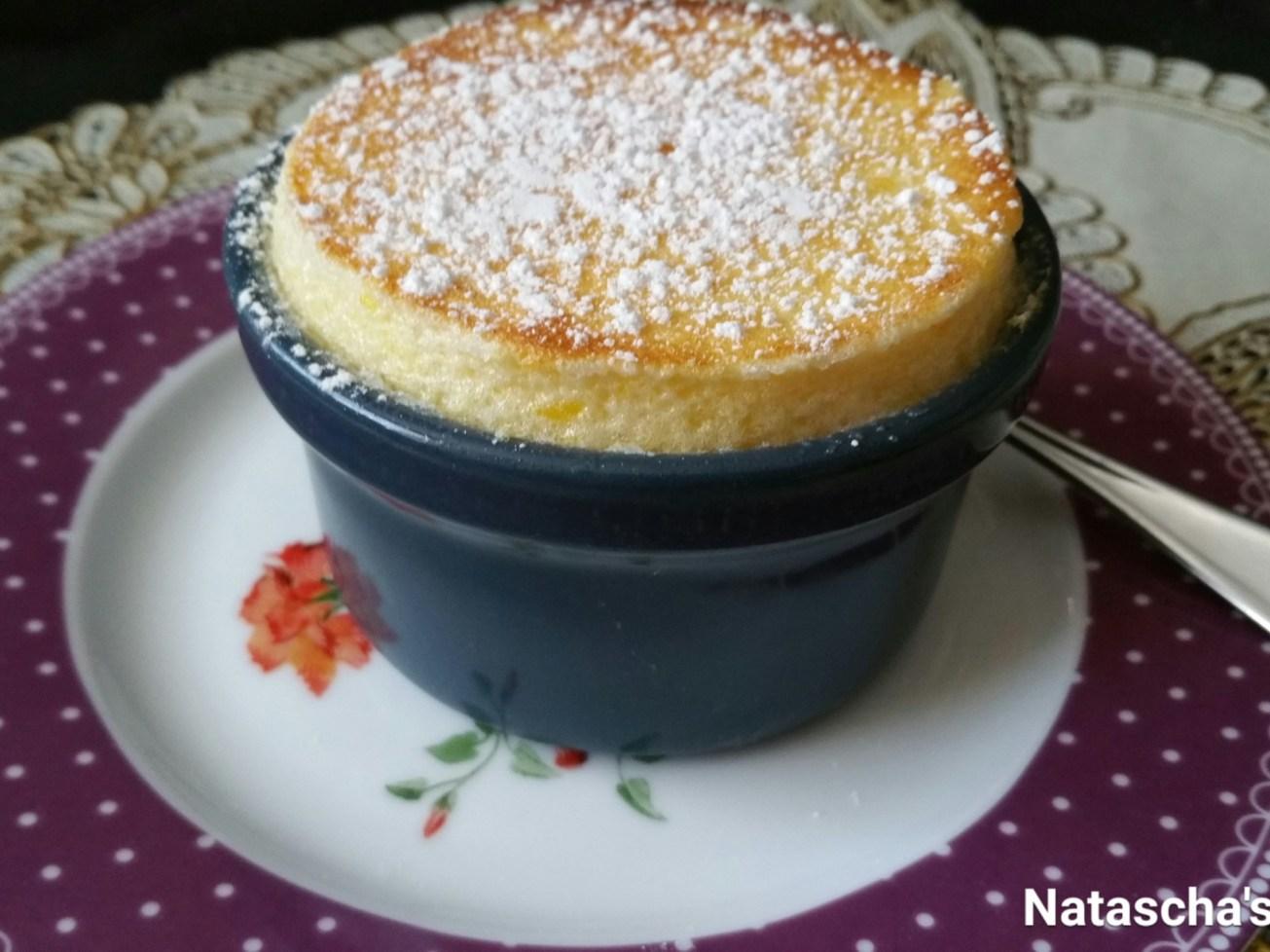 Natascha's mango soufflé