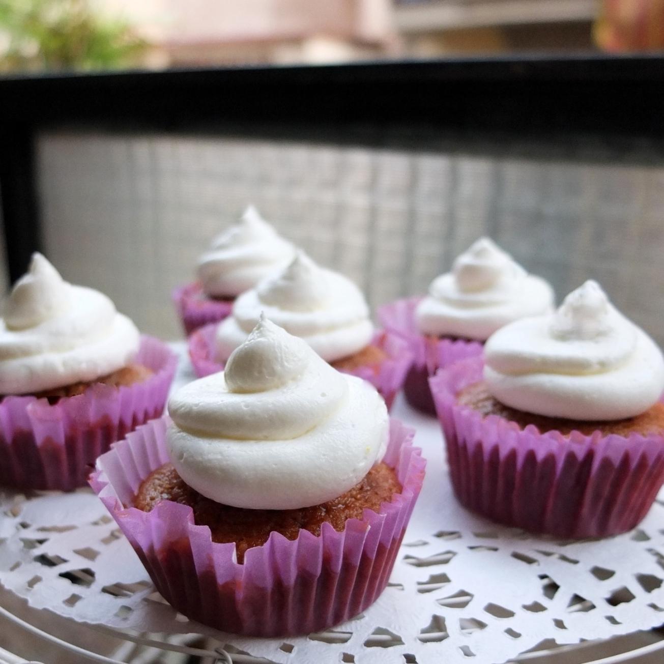 Jamaican ginger cupcakes