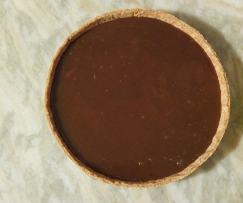 Salted caramel in the tart