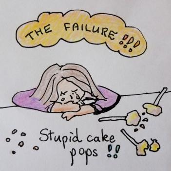 cake pop despair