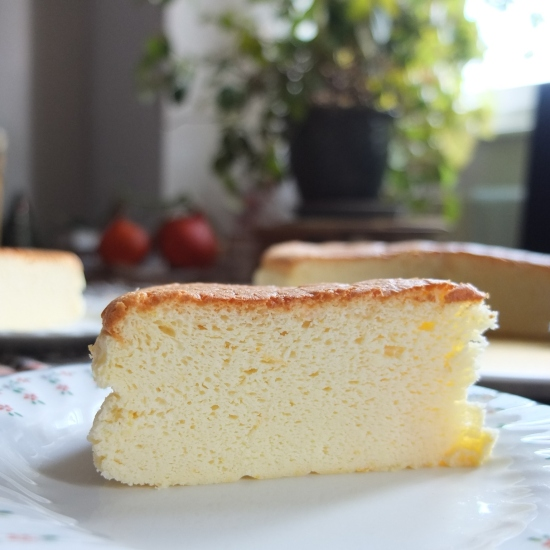 Japanese soft cotton cheesecake