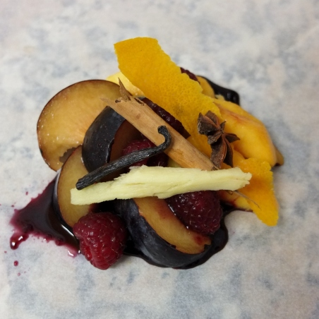 spiced fruit en papillote 2