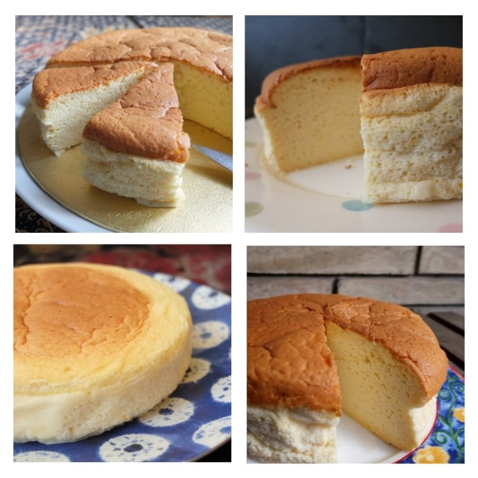 Japanese cheesecake prototypes