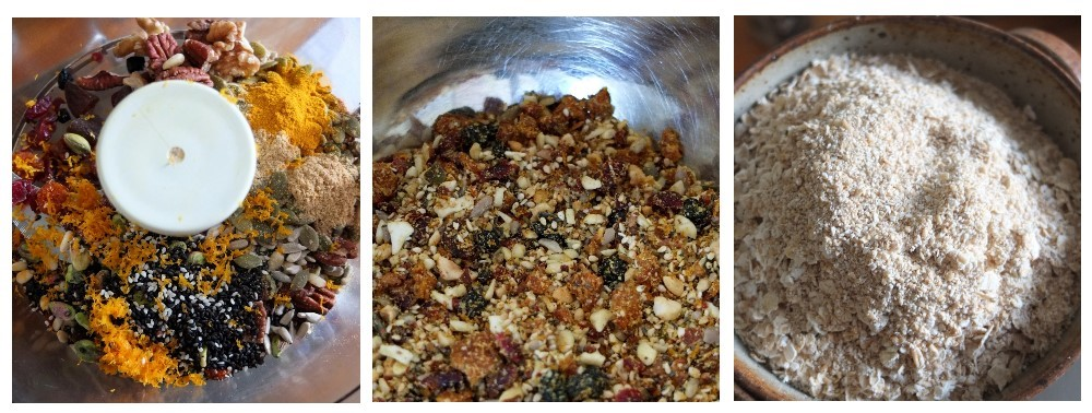 fruit, nut and seed porridge bars 1