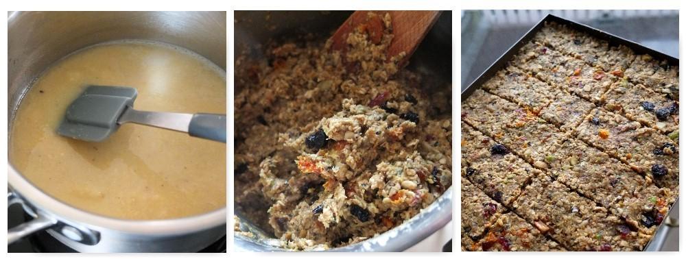fruit, nut and seed porridge bars 2