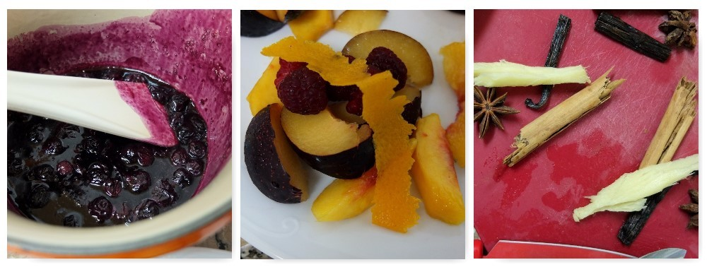 spiced fruit en papillote 1