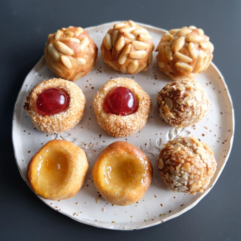 Panellets recipe, almond paste treats