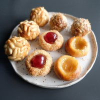 Healthier panellets recipe! Almond paste treats for la Castanyada!