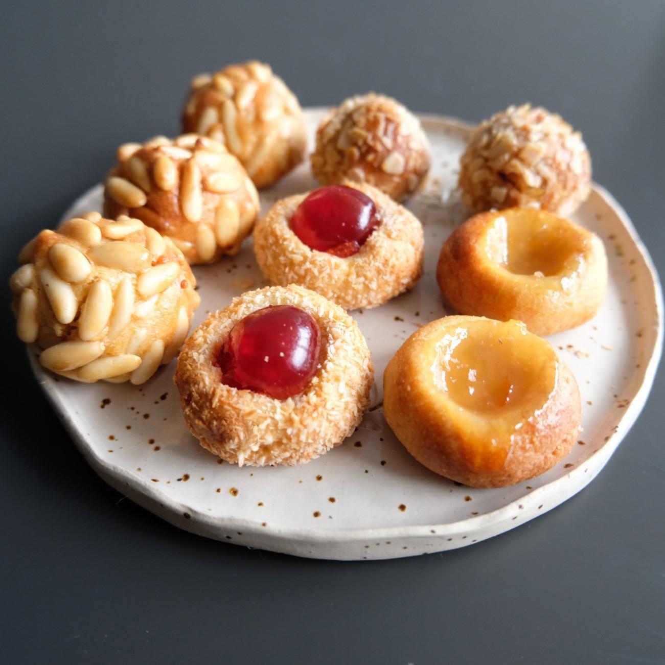 Panellets recipe, almond paste treats