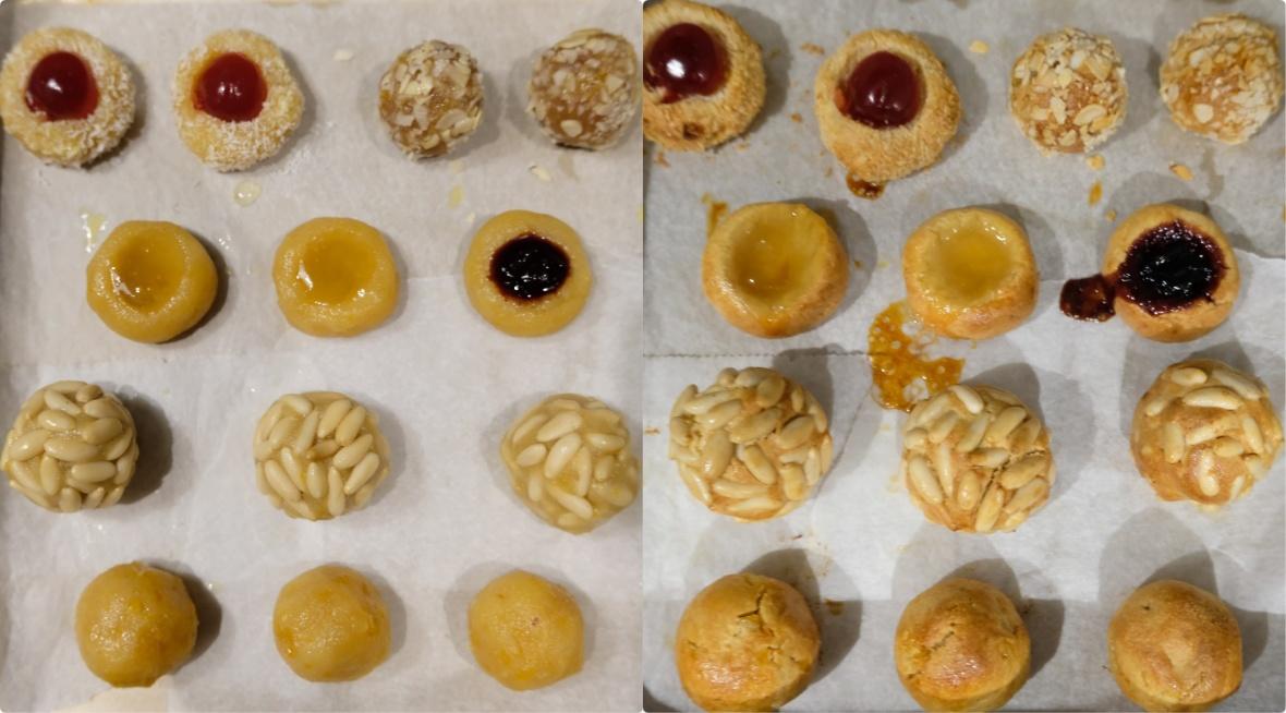 Baking panellets