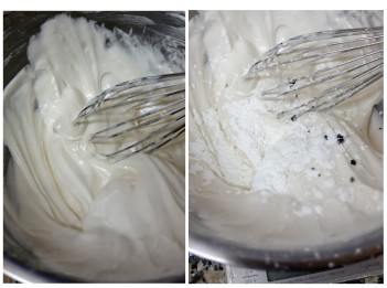 Pavlova meringue 1
