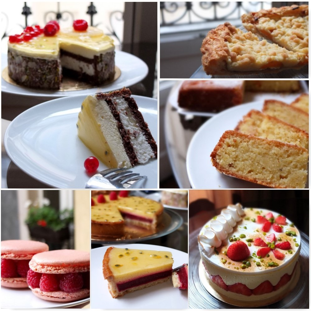 Week 39 of cakes and le Cordon bleu course
