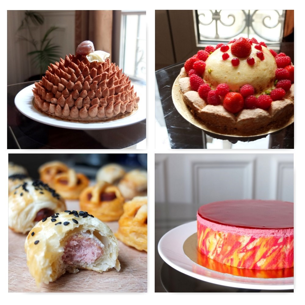 Week 41 of cakes and savoury petits fours