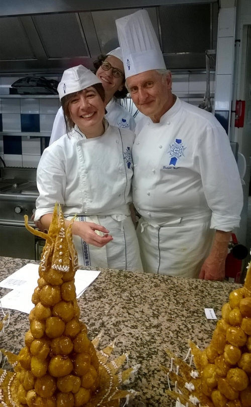 Croquembouche, with Chef Walter