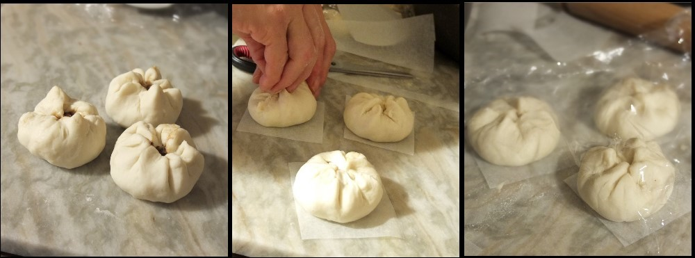 Char siu bao assembly 2