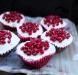 pomegranate red velvet cupcakes