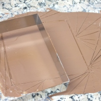 Tempering chocolate - ice bath method