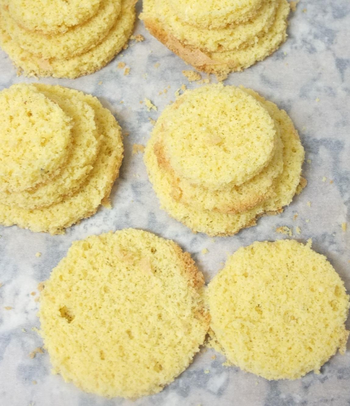 sugar-free genoise sponge