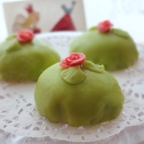 Mini swedish princess cakes - healthier