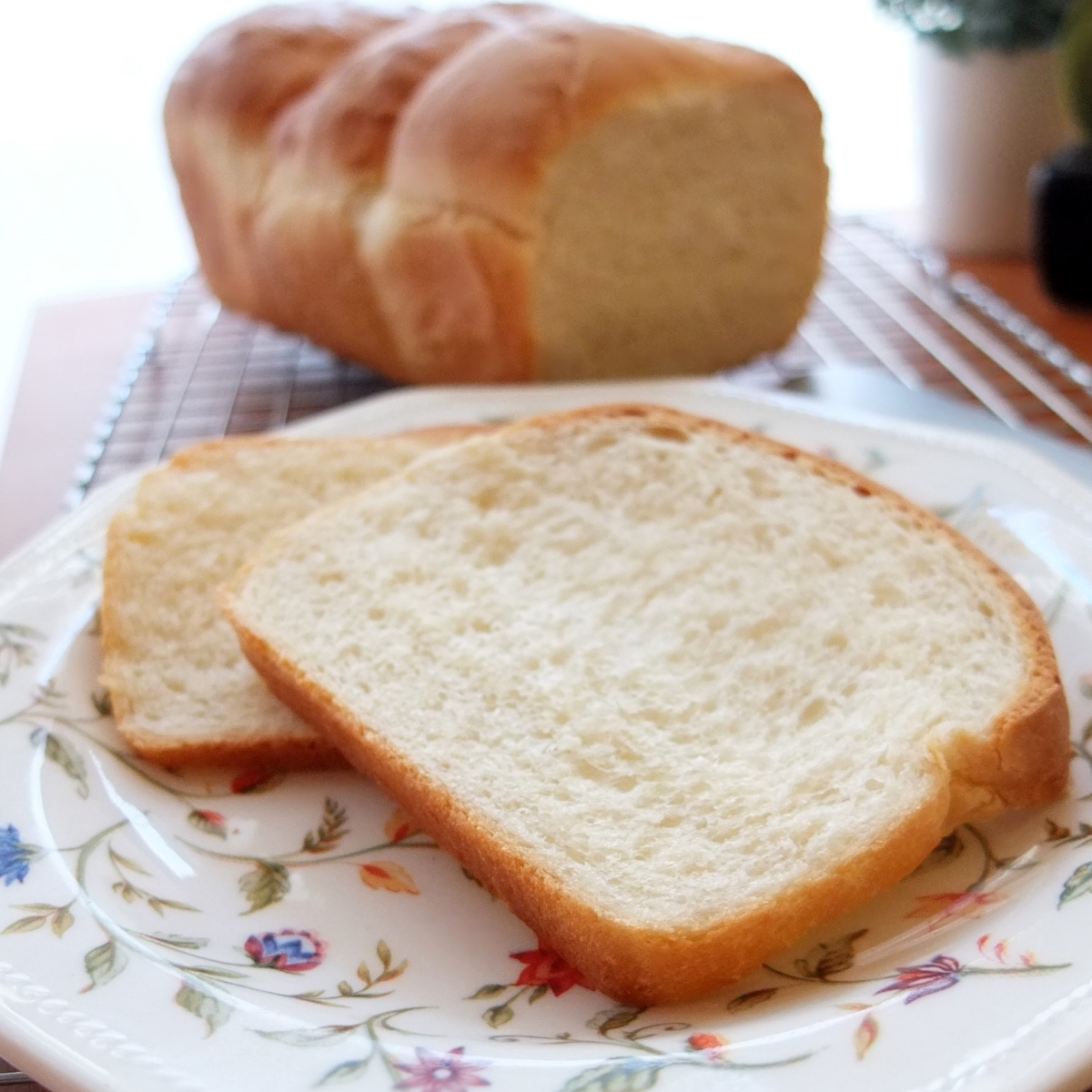 Pain de mie - French sandwich or toast bread recipe!