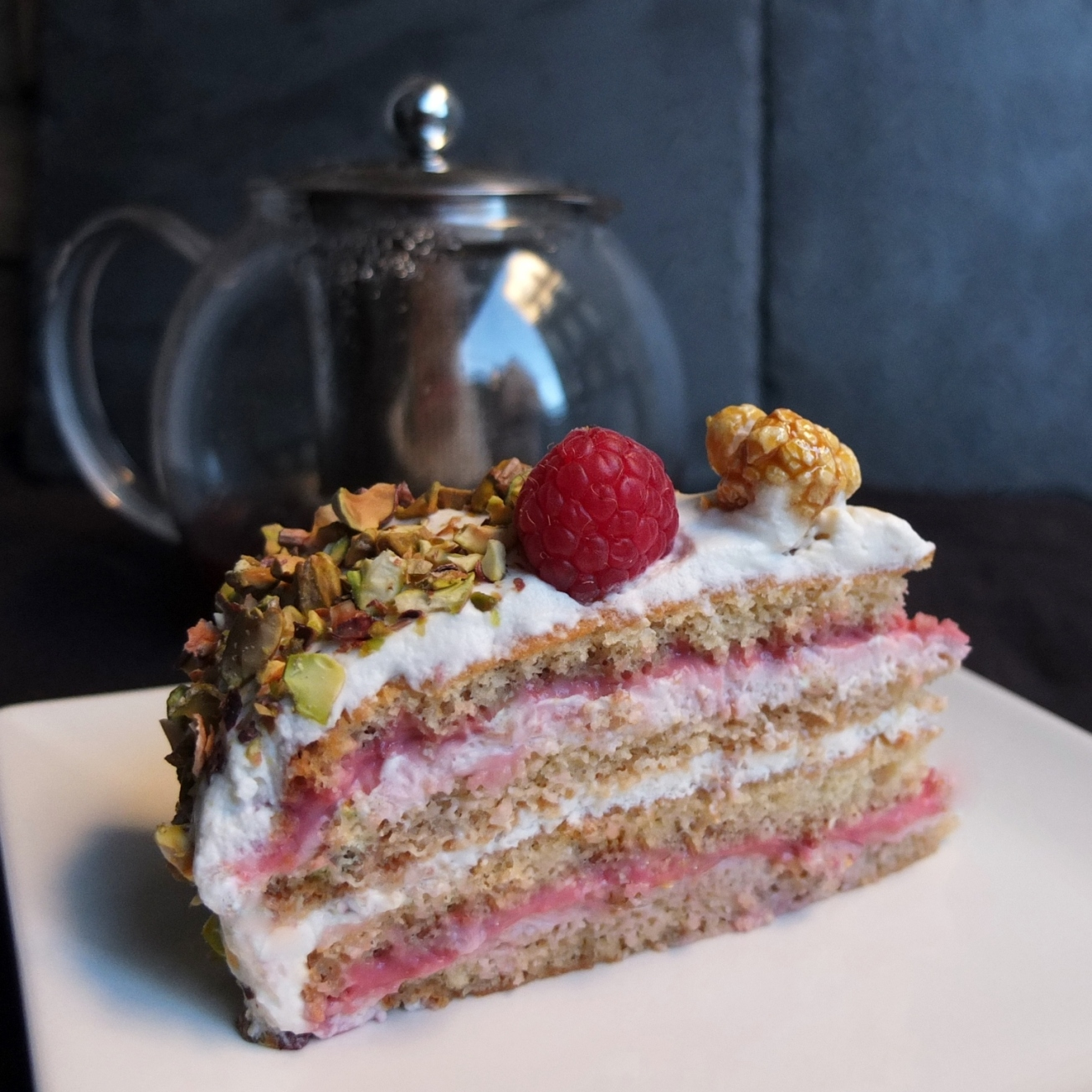 Masala chai, raspberry and pistachio layer cake recipe and the history ...
