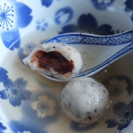 Red bean dumplings recipe with glutinous rice flour