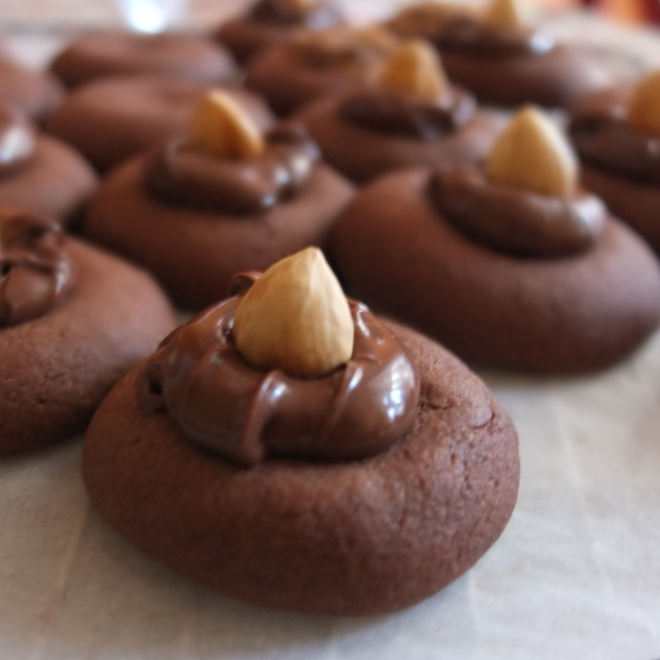 Nutellotti - nutella biscuits or cookies recipe