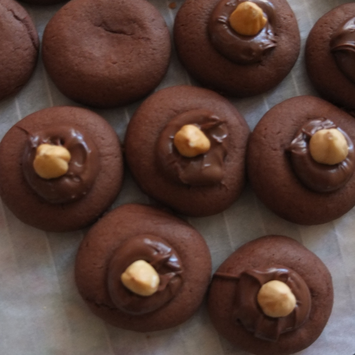 Nutellotti - nutella biscuits (cookies)