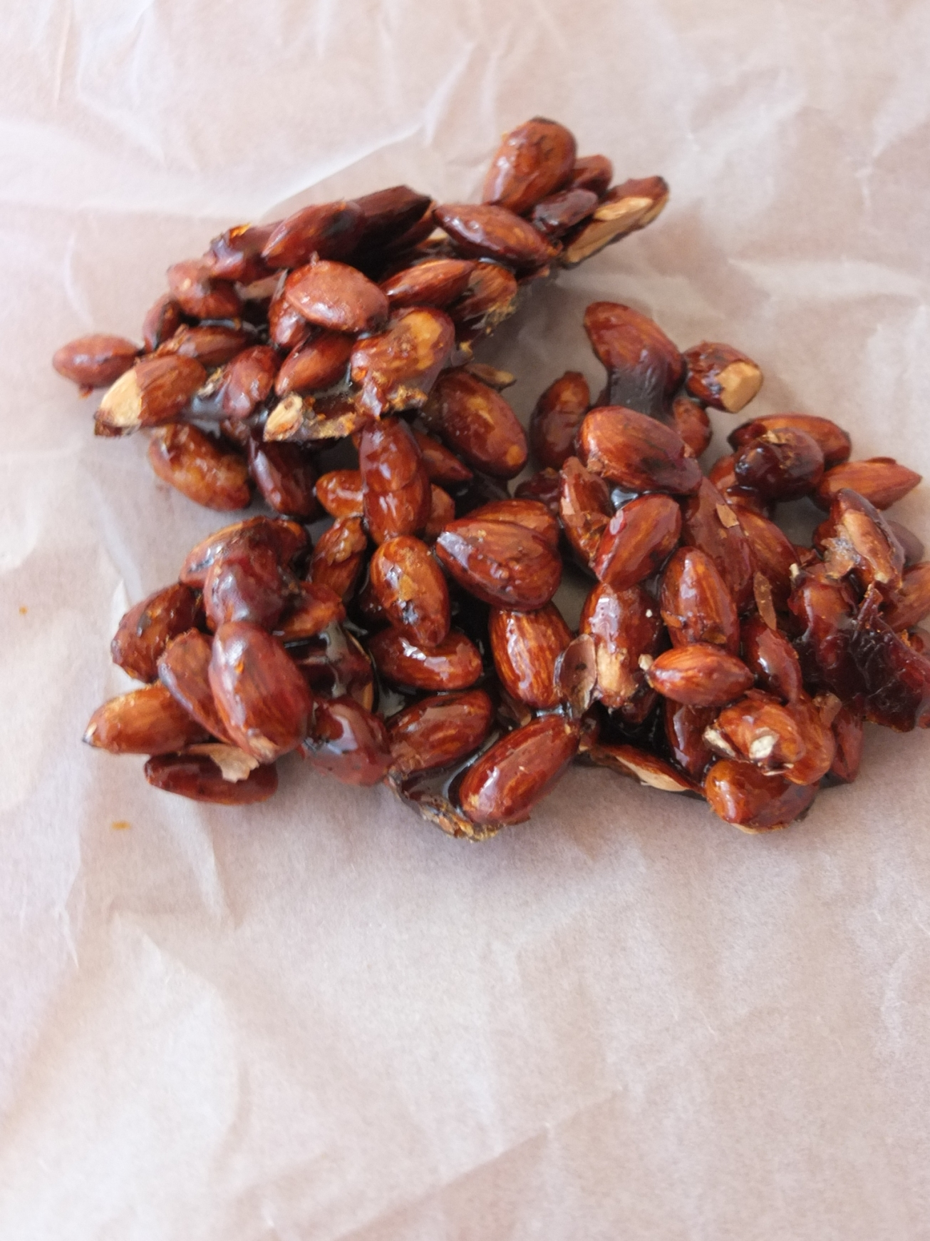 Homemade pralines