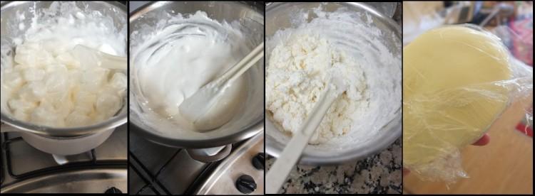 Lemon drizzle cake fondant 1