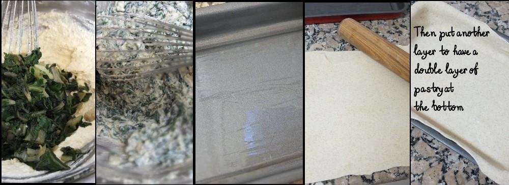Making a torta pasqualina 2