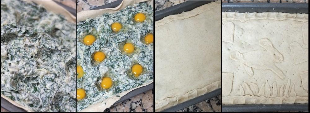 Making a torta pasqualina 3