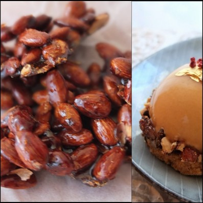 Pralines collage