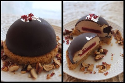 Dreams Of Florence Caramel Raspberry Dome Cakes Recipe Lilis Cakes