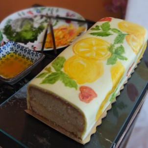 The mojito lemonicious drizzle cake