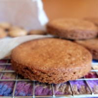Healthier sablés or palets bretons (Brittany salted butter shortbread biscuits/cookies) - complete recipe