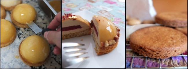 sablés bretons as cake bases or alone