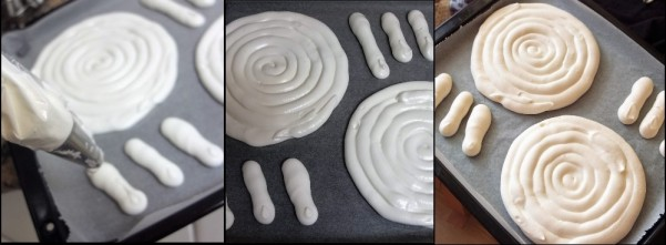 French meringue discs 3