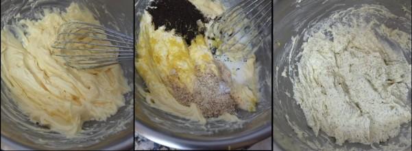 Making an earl grey tea lemon loaf 2