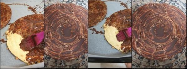 Chocolat de chablonnage 2 feuille d'automne