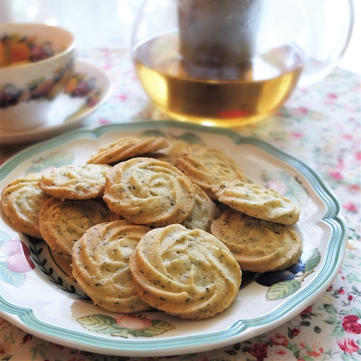 Earl Grey melting moments biscuits (cookies) recipe