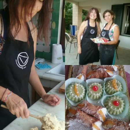 Traditional Sicilian cakes workshop