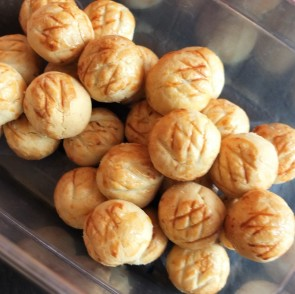 Healthier pineapple tarts - cookies for Lunar New Year