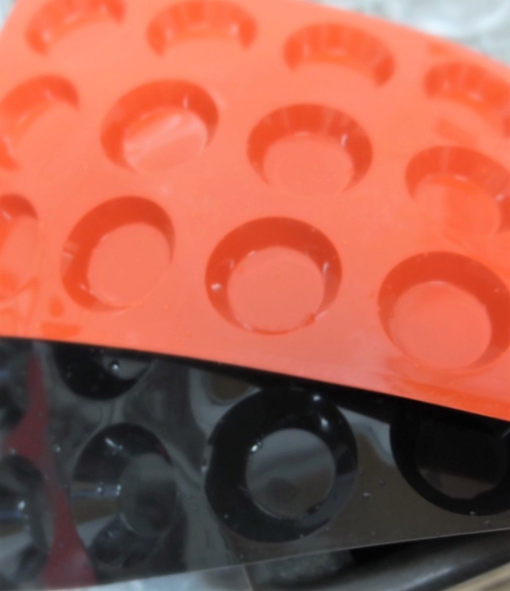 raspberry layer moulds